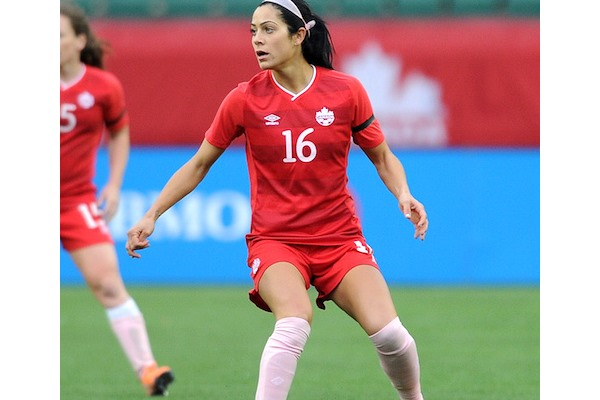 Jonelle Filigno, team Canada player, meet and greet @ Cameron Memorial August 12th